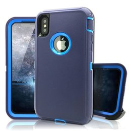 2019 iphone wasserdichter fallclip iPhone Schutzhülle Hybrid-Roboter-Schutzhülle iPhone Xs Max Xr 8plus 7s 6 Stoßfest wasserdicht Samsung S9 S8 Note9 iPhone X-Hülle günstig iphone wasserdichter fallclip