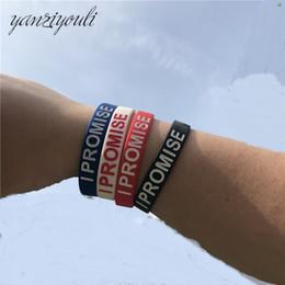 2019 braccialetto dei braccialetti dei braccialetti Bracciale in silicone James di alta qualità I PROMESSA più di un atleta Basketball Player Kids Siliocne Wristband Women Men sconti braccialetto dei braccialetti dei braccialetti