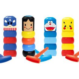 Magie du mentalisme en Ligne-5 Styles Immortal Daruma Incassable Man en bois Magic Toy Magic Tricks Close Up scène magique Comédie Mentalisme Props Fun Toy accessoires