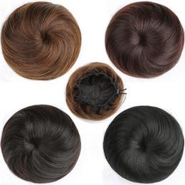 Kurze Haarnadel Gerade Haar Blume Haar Ring Schnalle Typ Gummiband Dame Elastische Net Synthetische Haar Faser Hochtemperaturfaser von Fabrikanten