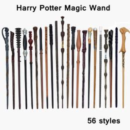 12 zauberstab online-56designs Harry Potter Zauberstab Cosplay Spielzeug metallischen Kern Harry Potter Kinderspielzeug Kinderweihnachtsparty Favor LJJA3472-12
