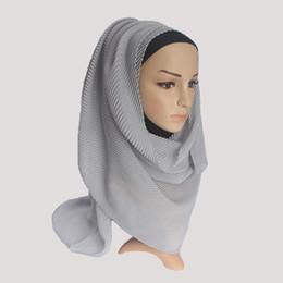 Canada 2018 Femmes Coton Hijabs Plaine Hijab Écharpe Châle Doux Islam Musulman Headcover Mode Wrap Musulman Hijabs supplier scarf fashion for muslim women Offre