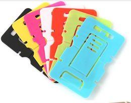 Soporte móvil barato online-NIZA titular de la tarjeta de teléfono celular barato caliente de la venta del soporte del teléfono móvil del sostenedor tarjeta telefónica para el color de la mezcla celular