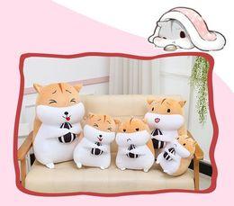 2019 personalizzare bambole Cuscino giocattolo in piuma d'oca scoiattolo bambola bambola in piuma per il regalo di compleanno per bambini personalizzato da ragazze personalizzare bambole economici