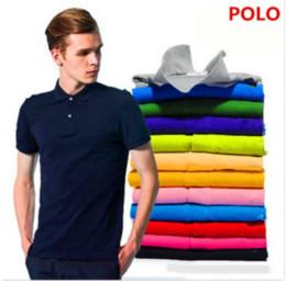 2019 t uhr Neue 2019 Größe Baumwolle kurz und Kurzarm Polo T Shirt Krokodil Größe XS-4XL 25 Uhr Farbe Camisa Polo Freies Verschiffen. günstig t uhr