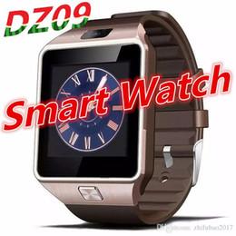 telefono rosa android guardare Sconti DZ09 Smart Watch Clock con slot per schede SIM TF Bluetooth adatto per ios Android Phone Smartwatch o A1 GT08 X6 Q18