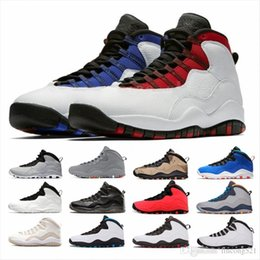 Plus récent BON Tinker 10s Cement mens Chaussures de basket 10 acier gris Westbrook Je suis de retour Lazer bleu hommes Outdoor espadrille formateurs