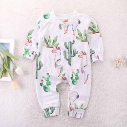 58e15b07 cute fashion toddler boy clothes Coupons - Everweekend Toddler Jumpsuits  Boys and Girls Cactus and Alpaca