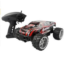 Carro eletrônica criança on-line-Caminhão do carro do monster truck rc big-foot velocidade de corrida controle remoto buggy suv off road veículo passatempo eletrônico toys para crianças