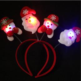I regali creativi della forcella della fascia della molla della fascia di Natale della fascia della molla della peluche di Natale di migliore vendita da