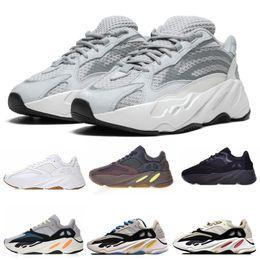 Venta caliente Wave 700 Zapatos Corrientes para Hombres Mujeres Para Mujer INERTIA Sal Estática 3 M Reflectantes Multi Sólido Gris Zapatillas Deportivas Tamaño 36-45 desde fabricantes