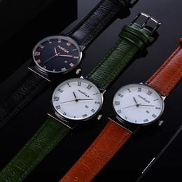 Мода водонепроницаемый Кожаный ремешок кварцевые аналоговые наручные часы skmei часы коробка montre homme Рождество gift_12.12 cheap leather watch band box от Поставщики кожаный ремешок для часов