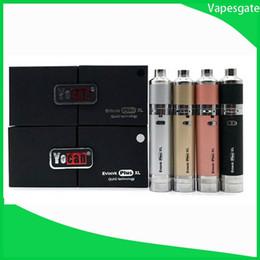 Yocan Evolve Plus XL Набор восковых ручек для воска с вапорайзером 1400 мАч USB-инструмент для воска с стартерами Yocan Magneto от