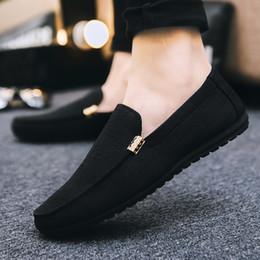zapatos de moda de corea del sur Rebajas zapatos hombres nueva versión surcoreana 2019 de moda versátil zapatos personalidad tendencia moda discoteca moda