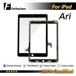a23 q88 écran tactile Promotion Écran tactile pour iPad Air Écran tactile Remplacement de la vitre frontale en gros 100% Qualité Livraison gratuite