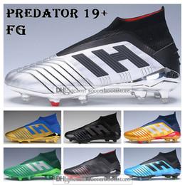 Бекхэм обувь онлайн-Детские футбольные бутсы с высокой лодыжкой 302 Хищник с перенаправлением 19+ Футбольные бутсы ZIDANE BECKHAM Мужчины Женщины Хищник 19 X Pogba Футбольные бутсы