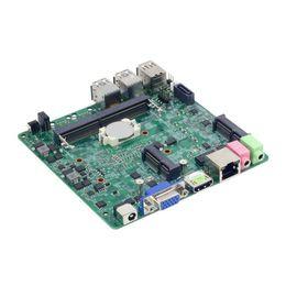 Générations d'ordinateurs en Ligne-La carte mère Intel 6100U prend en charge la carte mère d'ordinateur tout-en-un pour processeur de sixième génération DDR4