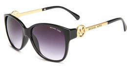 Wayfarer espelho óculos de sol homem on-line-2019 Novos Homens Mulheres Óculos De Sol RAYS 54mm Marca Designer de Olho de Gato Óculos de Sol Bandas BEN Espelho Wayfarer Gafas de sol Banhos Com Casos de Condução 55
