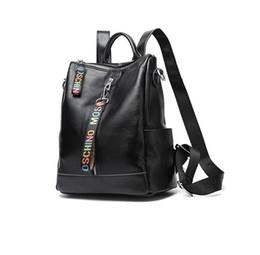 Borsa da donna borsa da donna borsa a mano zaino nuovo zaino a tracolla croce in pelle bovina borsa moda femminile ad alta capacità da