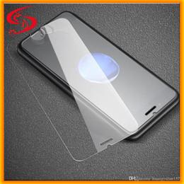 pantallas de los teléfonos celular al por mayor Rebajas Protector de pantalla de teléfono celular al por mayor 2.5D 0.33mm 9H Anti huella dactilar templado Protector de pantalla de cristal para iPhone para Samsung