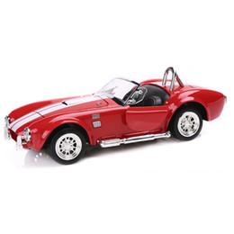 Argentina Diecast Alloy 1:32 Ford Cobra 1965 Modelo de Coche Juguetes Puerta Abierta Tire hacia Atrás Colecciones de Coches Clásicos Cumpleaños de Niños Suministro