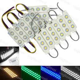 Led-streifenmodule online-LED-Module SMD 5050 Store Frontscheibe Licht Zeichen Lampe Einspritzung Weiß IP68 Wasserdichtes Lichtband Led Hintergrundbeleuchtung Superhelligkeit DHL