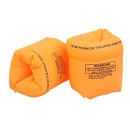 Juego inflable de la nadada online-2 unids / set niños adultos natación inflable giros flotadores de natación de agua de seguridad para niños