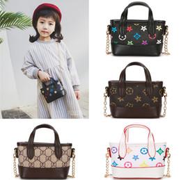 Wholesale Niños bolsos de diseño venta caliente bebés niñas bolsos cruzados de moda clásico antiguo floral impreso niños mini princesa monederos regalos de los niños