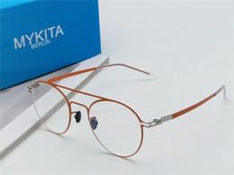 d734aebe2 óculos de grandes dimensões para homens Desconto Nova MYKITA Óptica óculos  DAGUR frame redondo com espelho