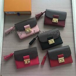 Imprimir cartões pvc on-line-Marca de alta qualidade designer de moda carteira de impressão clássica titular do cartão curto carteira de couro PVC + bolsas de luxo das mulheres