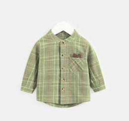 5dd3d6f6a 2019 Nueva moda para niños Estilo que restaura maneras antiguas Cuello en V  Camiseta Chaquetas de niños y niñas de Cardigan Otoño abrigo