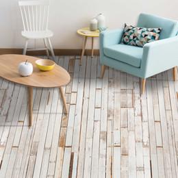 Arredamento in legno online-118.1x7.87 '' / Set Bianco Legno Grano Piastrella Adesiva Art Floor Adesivo Sticker FAI DA TE Cucina Bagno Decor Living Room Floor PVC No-Slip Deco
