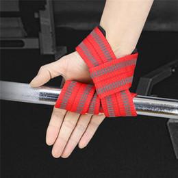 fitbit flex ersatzbänder Rabatt 2Pcs / Lot Sport Handgelenkstütze Professionelle Einstellbare Gewichtheben Bodybuilding-Armband Gym Strap Schutz Wrist Leistung Trai