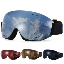 025b4d48ca5 Skiing UV400 Protective Ski Goggles OTG Climbing Skating Snow Anti-fog Goggle  Winter Sports Goggles Eyewear for Men Women