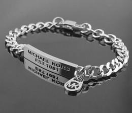 2019 shamballa liebe armband Großhandel Luxus Rose Gold Weiß Mode M * K Gold Armband Weibliche Modelle Wasser Welle Armband Brief Logo Armband Niedrigen Preis