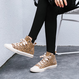 red flat shoelaces Promo Codes - LAPOLAKA 2018 Brand Design Pig Suede Leather Pigskin Booties Woman Shoes Shoelaces Fashion Leopard Flat Shoe Women Ankle Boots
