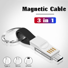 Computer & Office Portable Metal Keychain Usb Data Sync Cable Bottle Opener Micro Usb Charger Charging Cord Wire Line Keyring Shape
