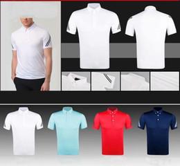 Argentina 2019 OEM Ti Golf camiseta para hombre de verano en forma de leche de hielo, tela de seda y hielo, tacto suave, camisas deportivas 4 colores disponibles Suministro