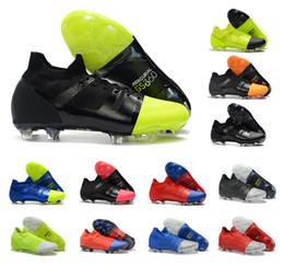Zapatos cr7 superfly talla 39 online-Caliente Mercurial Greenspeed Superfly GS 360 Elite FG Velocidad verde Tobillo alto CR7 Zapatos de fútbol para hombre Zapatos de fútbol Botines de talla 39-45