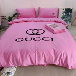 Estilo Europeu Têxteis domesticos conjunto de cama Roupa de cama incluem 4 pcs edredon cobrir Folha de cama fronha Consolador Bedding Sets Lençois de Fornecedores de conjunto de cama 3d, algodão cisne