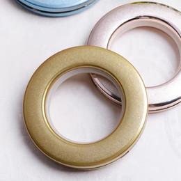 Deutschland Gardinenring Roman Ring Vorhang Zubehör Zubehör Kunststoff-Schnalle Ring mattiert Stil Versorgung