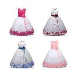6d5e681f4b2 Discount baby girl puffy dresses - Kids Sleeveless Flower Dress Baby Girl  Designer Clothes Baby Toddler