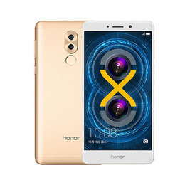 Huawei 5.5 32gb онлайн-Оригинал Huawei Honor 6X Play 4 ГБ RAM 32 ГБ / 64 ГБ ROM 4G LTE Мобильный телефон 5.5 дюймов 12.0MP Andorid отпечатков пальцев ID мобильного телефона