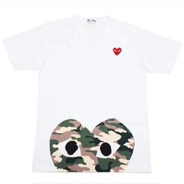 chicos rock tees Rebajas Camisetas de diseñador para hombre de lujo de las mujeres camiseta de la venta caliente de manga corta camisetas impresión del corazón camiseta divertida