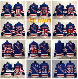Marca maillot maillot online-Hockey 10 J.T Miller Jersey New York Rangers 11 Mark Messier 20 Chris Kreider 76 Brady Skjei 93 Mika Zibanejad 36 Zuccarello