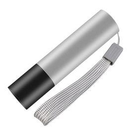 Argentina La mayoría del Fire USB recargable de acero inoxidable Glare Mini linterna portátil LED linterna impermeable linterna llavero de luz Suministro