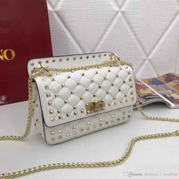 Diseñadores bolsa de correas online-Diseñador de damas clásicas bolso bandolera estilo mini correa con bolsa de mensajero bolso de mano de cuero de calidad