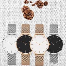 Nueva Llegada Hombres 40mm Relojes Relojes Accesorios Reloj Femenino Relogio Montre Femme Simple Venta Caliente Durable 14 5os desde fabricantes