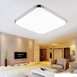 Ceiling Lights & Fans Dependable Modern Surface Mounted Ceiling Lamp Led Panel White/black For Bathroom Lighting Ac110-240v Luminarias Para Back To Search Resultslights & Lighting