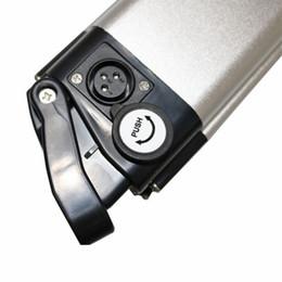 Canada Livraison gratuite USA EURO 1000W sans taxe 48V 28AH Vélo Électrique Batterie Au Lithium 54.6 Batterie arrière en alliage d'aluminium Batterie de scooter Chine cheap aluminum electric scooter Offre